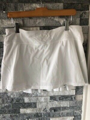 $ CDN61.65 • Buy Women's LULULEMON Circuit Breaker Skirt Skort Tennis-White-Size 10