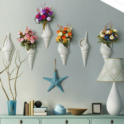 Nautical Style Starfish Resin Wall Hanging Ornament For Bedroom Decor Blue • 9.22£