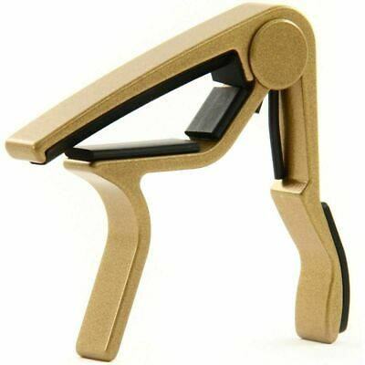 $ CDN41.40 • Buy Dunlop 83CG Trigger Acoustic Guitar Capo - Gold For 6/12 String