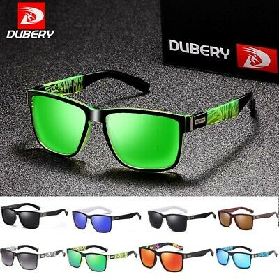 AU18.89 • Buy DUBERY Mens Polarized Sport Sunglasses Outdoor Riding Fishing Summer Goggles Hot