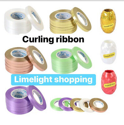 New 50M Curling String Colour Balloon Ribbon Gift DecorationParty Fancy Knot Tie • 1.79£