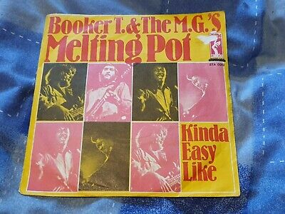 Booker T And The Mg's - Melting Pot  Stax Sta 0082 Rare Turkish Release Funk • 12.99£