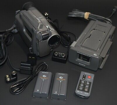 $ CDN228.18 • Buy Sony Handycam CCD-TR200 8mm Video8 HI8 Camcorder Player Stereo Video Transfer