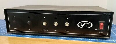 $ CDN56.36 • Buy Vintage VT TM60A Amplifier Made In Canada