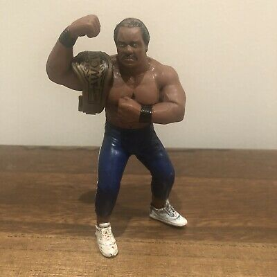 WCW Ron Simmons Galoob UK Exclusive Vintage Action Figure 1991 With Belt • 34.99£