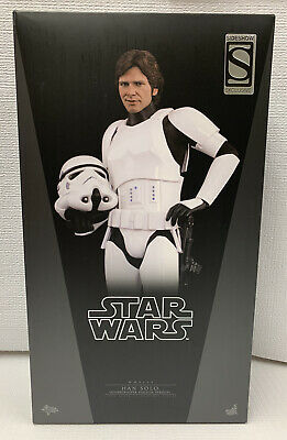 $369.99 • Buy Hot Toys Star Wars Han Solo Stormtrooper Mms418 With Mms261 Han Solo Head