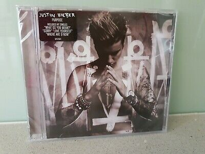 AU5.50 • Buy NEW & SEALED - JUSTIN BIEBER Purpose CD
