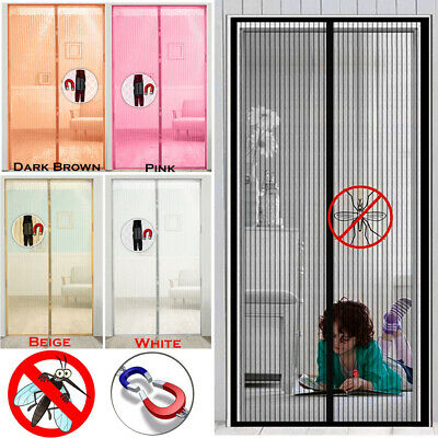 £6.85 • Buy Magic Curtain Door Mesh Magnetic Fastening Mosquito Fly Bug Insect Net Screen UK