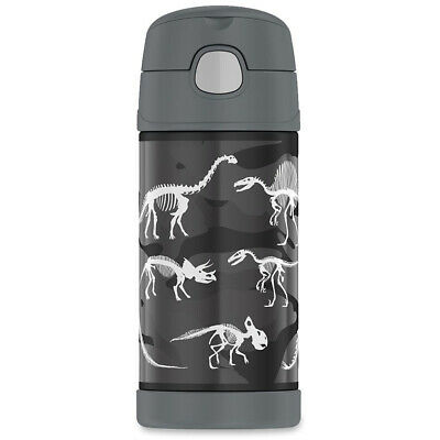 AU19 • Buy NEW Thermos Funtainer S/Steel Drink Bottle Dinosaur 355ml