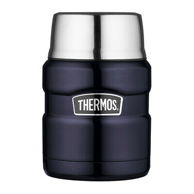 AU27 • Buy NEW Thermos Stainless Steel Vacuum Food Flask Blue 470ml