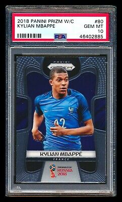 $ CDN1405.11 • Buy 2018 Panini Prizm Kylian Mbappe Rc France World Cup Rookie Card Psa 10 Gem Mint!