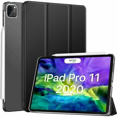 AU16.99 • Buy For Apple IPad Pro 11  12.9  2020 2018 SMART CASE Leather Hard Stand Slim Cover