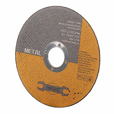 £10.95 • Buy 50x 4.5  115mm Metal Cutting Blade Disc Stainless Steel Angle Grinder Thin 1.6mm