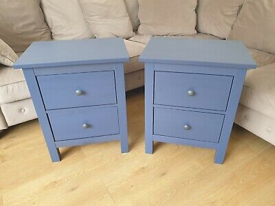 Exclusive Colour! Hemnes Chest Of 2 Drawers/Bedside Tables Set • 130£