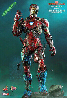 $ CDN604.25 • Buy Hot Toys Spiderman Far From Home Mysterio's Ironman Illusion Mms580 1/6 New