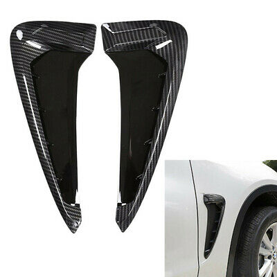 $ CDN35.94 • Buy Side Fender Marker Air Wing Vent Trim M Cover Carbon Fit BMW 2014-up F15-X5 35I
