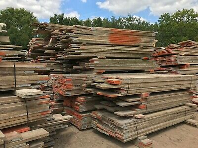 Reclaimed Old Used Scaffold Boards Recycled • 4£
