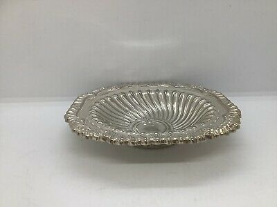 Silver Plated Trinket/ Butter Dish • 5£