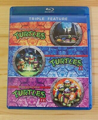 $ CDN24.99 • Buy Teenage Mutant Ninja Turtles Triple Feature Blu-ray