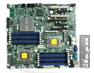 $ CDN113.95 • Buy SuperMicro X8DTi-F Server Motherboard LGA1366 Intel 5520 Extended ATX 12x DIMM
