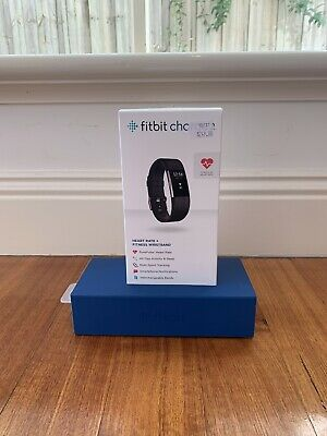 AU43 • Buy Fitbit Charge 2 Heart Rate Black Activity Tracker - Small