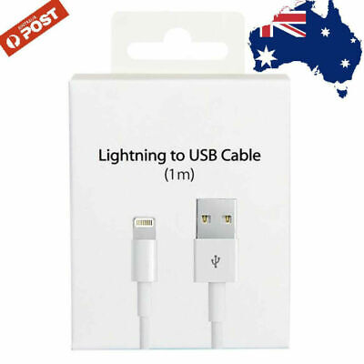 AU4.95 • Buy 1M USB Data Charging Cable Charger Cord For Genuine Apple IPhone 5s 6s 7 8 Plus