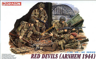 Dragon 6023 1/35 Scale WWII British Red Devils (Arnhem 1944) (4 Figures) • 17.19£