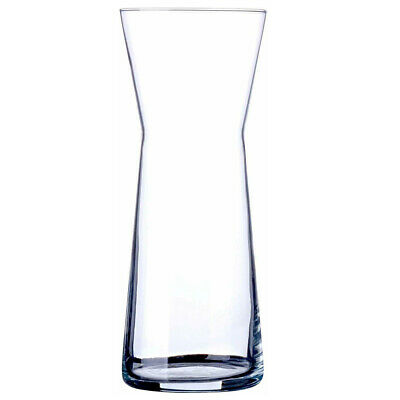 Glass Vase Clear Straight Fluted Rounded Shape Flower Wedding Table Centrepiece • 6.99£