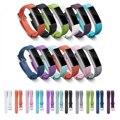 AU4.28 • Buy For Fitbit Alta/HR Silicone Bands Wristband Watch Strap Replacement Band UK