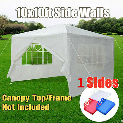 AU54.97 • Buy Party Tent Up Outdoor Heavy Duty Gazebo Wedding Canopy Full Side Wall 1 Side