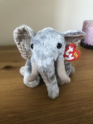 Ty Bahati The Ty Store Elephant Beanie Baby Brand New With Tags  • 12£