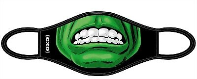 Face Mask For Adults And Teens, Hulk Face Covering Washable And Reusable • 4.49£