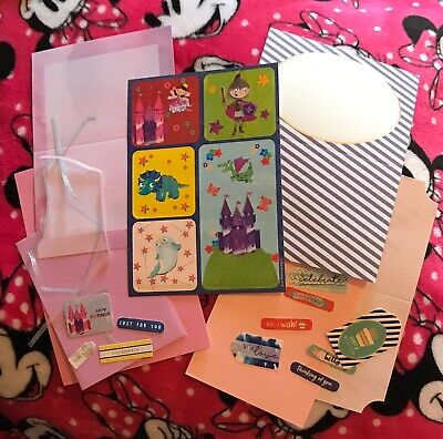 JoJo's ~ Dreamland ~ Card Making Kit ~ Children's Theme ~ Brand New ~ Set 2 • 1.50£