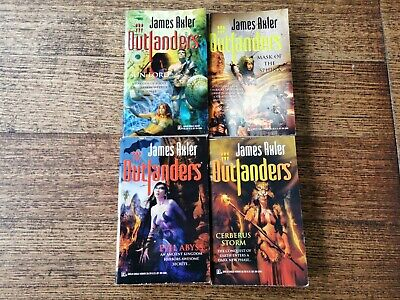AU29.95 • Buy Outlanders Lot Of 4 X Books By James Axler, K5