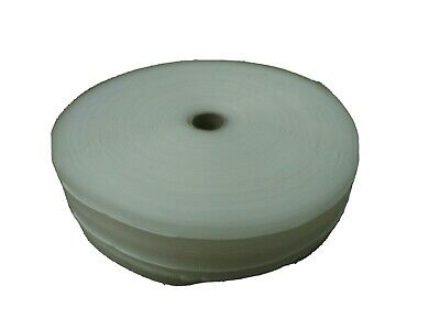 2  Clear Curtain Heading Tape Net&Voile Pinch Pleat Roll 50m • 50£