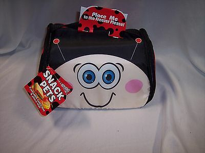 Lunch Box,   Snack Pets Freezable Fun Lunch Box  Cherry The Ladybug  • 7.51£