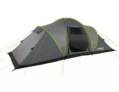 Urban Escapes 6 Person 2 Rooms Tunnel Tent With Porch. • 120£