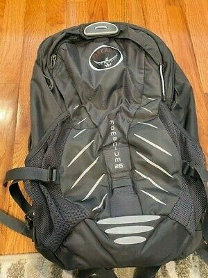 $35 • Buy Grey Osprey Momentum 26  Backpack - Size S/M, Expandable To 32L, Rain Cover