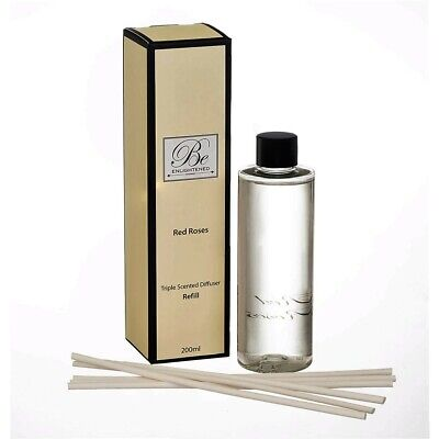 AU25.95 • Buy Be Enlightened~diffuser Refill~triple Scented Red Roses