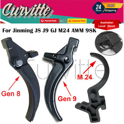 AU13.25 • Buy Metal Trigger For J8 J9 M4A1 GJ M24 AWM 98K Replacement Parts Gel Balls Blaster