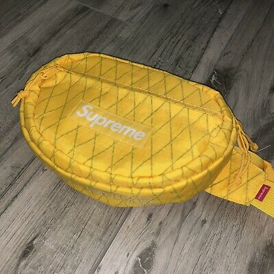 $ CDN146.76 • Buy FW18 SUPREME WAIST BAG YELLOW Fanny Pack Authentic Limited. Great Condition.