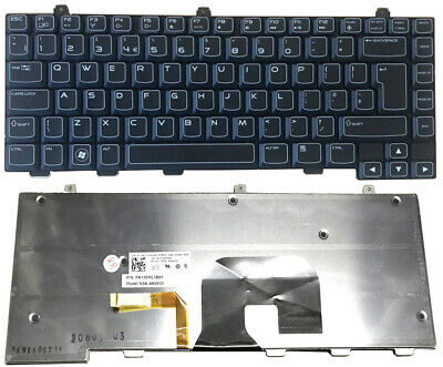 $ CDN61.51 • Buy For Dell Alienware M14X M15X R1 R2 R3 R4 Black US Laptop Keyboard With Backlit