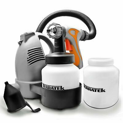 Paint Sprayer Spray Gun Airless Hvlp Electric 650w Hand Held Fence Tan System  • 54.99£