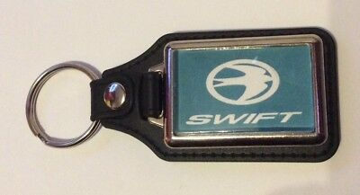 SWIFT CARAVAN LOGO LEATHER KEYRING Spare Parts • 4.99£