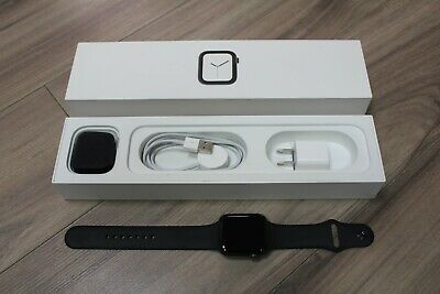 $ CDN349.99 • Buy Apple Watch A1978 Series 4 44mm Space Gray Aluminum Case Black Sport Band - GPS