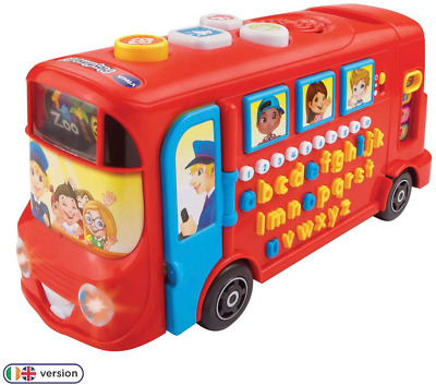 VTech Playtime Bus Letters Alphabet Numbers Educational Musical Baby Play Set • 19.93£