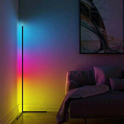 LED RGB Corner Lamp - Color Changing Mood Lighting - Remote Or App Controlled • 150£