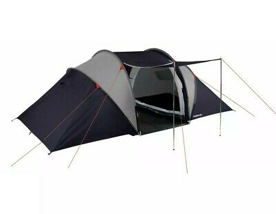 £74.99 • Buy Halfords 4 Person XL Tunnel Tent 2 Rooms