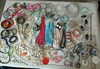 $ CDN13.34 • Buy Vintage Huge LB Jewelry Lot- Modern-Vtg-Unsearched Untested  Jewelry Lot Estate
