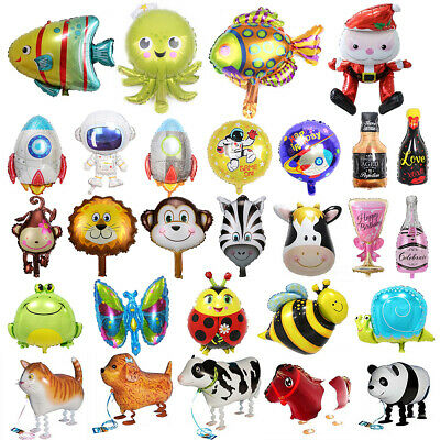 £2.02 • Buy Animal Helium Foil Balloons Kids Party Baby Shower Birthday Decor Ballons Gift